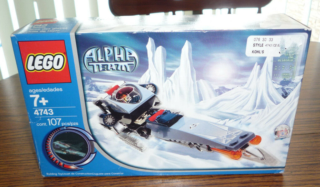 LEGO Alpha Team Set Ice Blade Blade Blade – Brand New c0e566