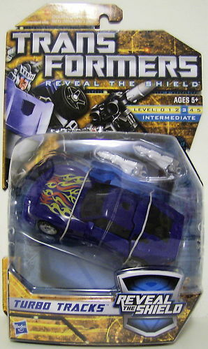 "Turbo Tracks Transformers Reveal The Shield 5/"" pouces Deluxe Class Figure 2010"
