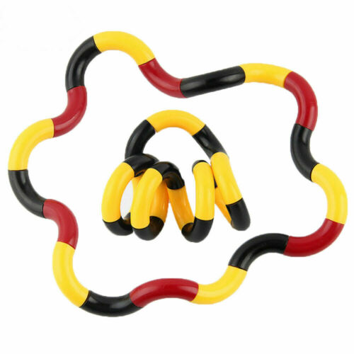 Tangles Relax Therapy Fiddle Fidget Stress ADHD Autism SEN Sensory Fuzzy Toy-uk=