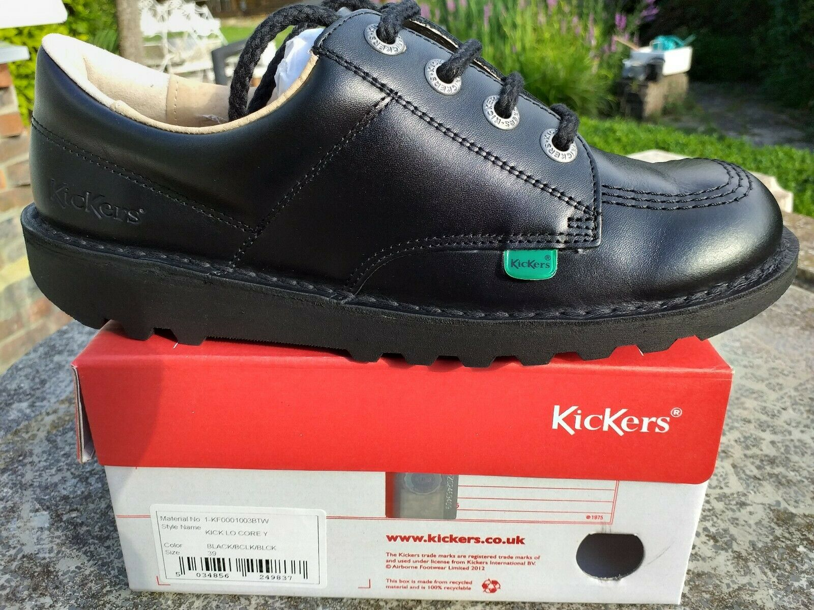 Boys and mens Kicker shoes sizes 3 euro 36 available only