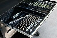 Tool Wrench Organizer Sorter Holder Rack Rail Toolbox Craftsman Snapon Black