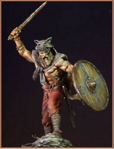 Details About 1 24 75mm Resin Figure Model Kit The Viking Warriors Unpainted 2019 Color