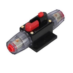 40A-12V-36V-Voiture-Marine-Bateau-Moto-Audio-Stereo-En-ligne-Disjoncteur-Fusible