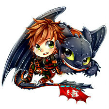 How To Train Your Dragon Totally Movable Wall Sticker Decal Remove & Reuse Decor