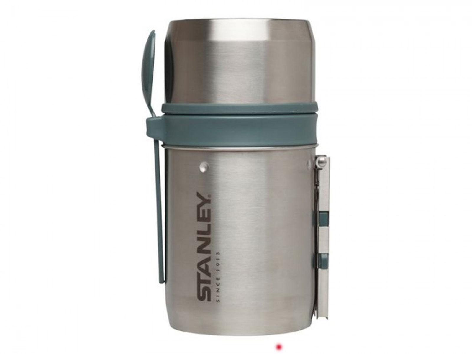 Stanley Adventure Mountain Food-System Cook Pot Vakuum-Isolation silber 0,6 L  | Exquisite Verarbeitung