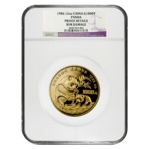 1986-12-oz-Chinese-Proof-Gold-Panda-1000-Yuan-999-Fine-NGC-PF-Details