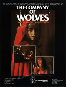 THE-COMPANY-OF-WOLVES-Orig-1985-Trade-AD-poster-SARAH-PATTERSON-NEIL-JORDAN