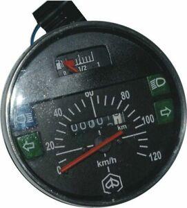 Speedometer-Tacho-Vespa-Lml-Px-Lusso-80-125-150-200-120Km-H-80-Mph-Black
