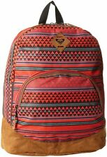 NWT Roxy Fairness 6 Faux Suede Backpack School Book Bag NEW