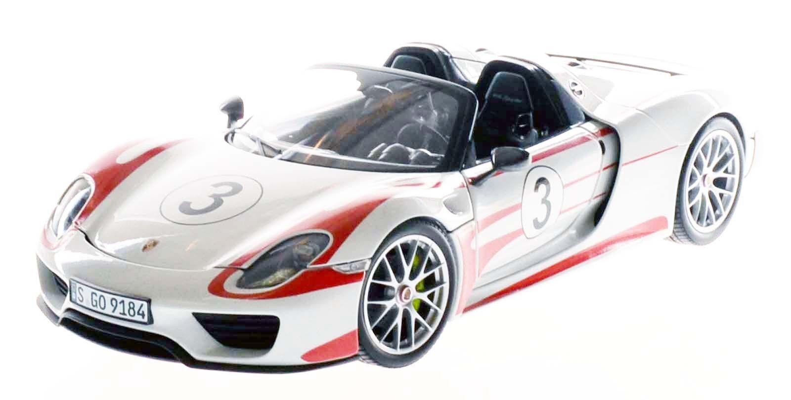 MINICHAMPS 110062441 Porsche 918 918 918 Spyder - 2013 Weissach  Salzburg   1 18 NEU OVP  | Elegant und feierlich  9461cf