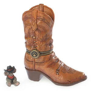 BOYDS-Bears-cash-039-s-Bota-W-WHISKY-mcnibble-Musica-Country-Tesoro-Caja-4038017