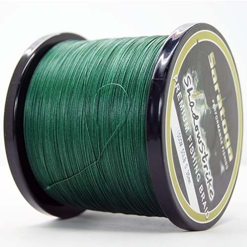8Strands 1500M 2000M Moss Green Super Strong Dyneema PE Braided Sea Fishing Line