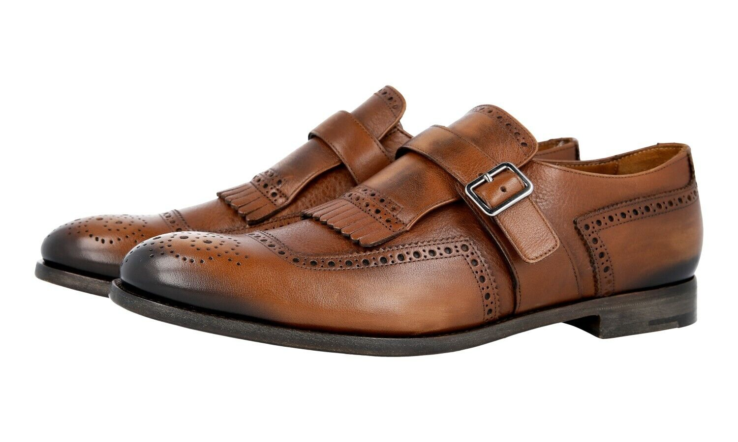 shoes PRADA LUSSO 2OF001 ROVERE NUOVE 7,5 41,5 42