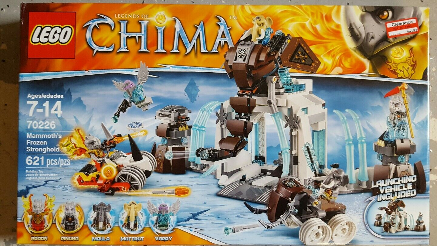 Lego 70226 Mammoth's Mammoth's Mammoth's Frozen Stronghold 621pcs 261fd6