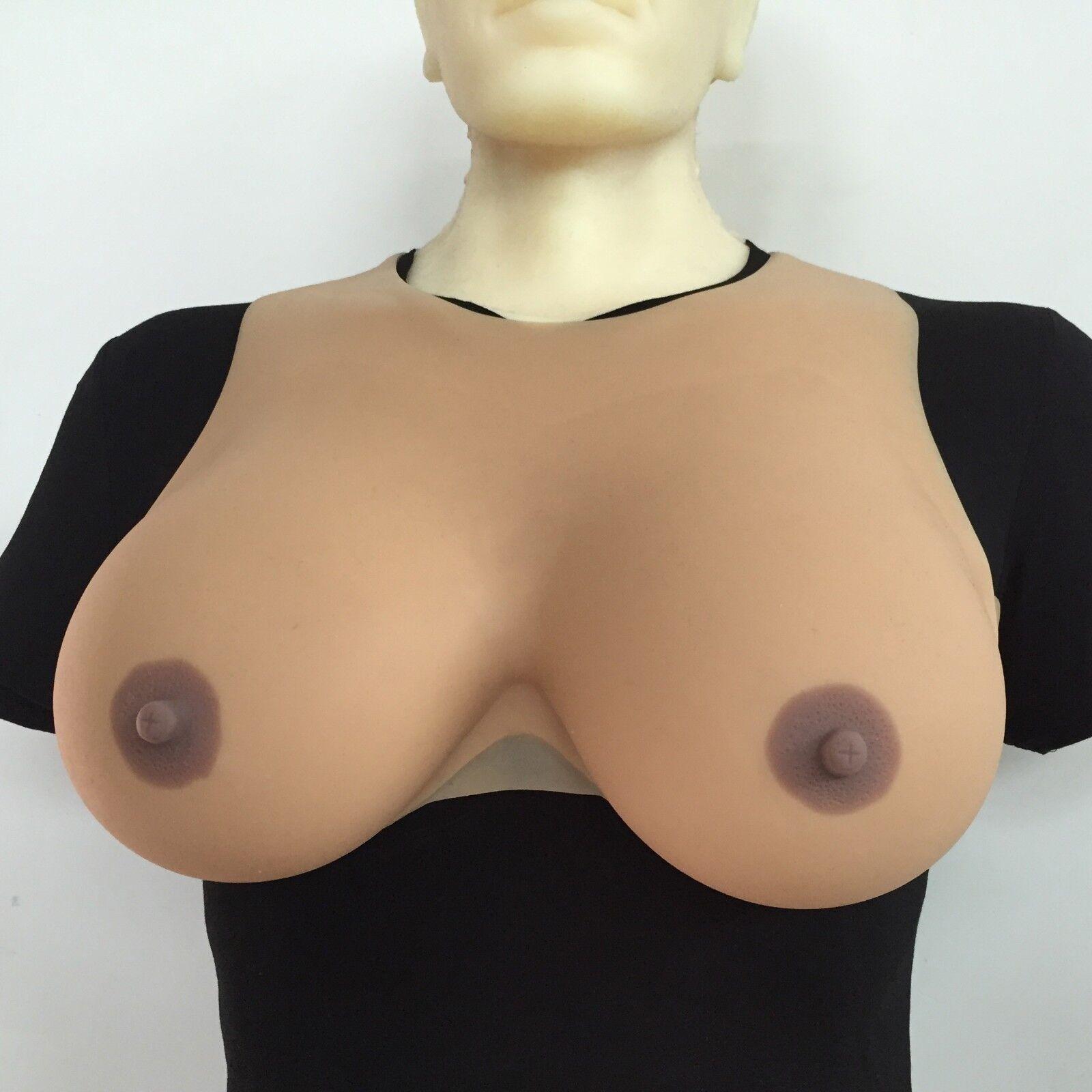 Silicona Crossdresser formas del pecho transgénegro falsas Boobs  Drag Queen 2400g pair  entrega rápida