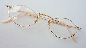Ars Vivendi federleichte Brille ca 10g ohne Glas, kleine Glasform 49-19  size M