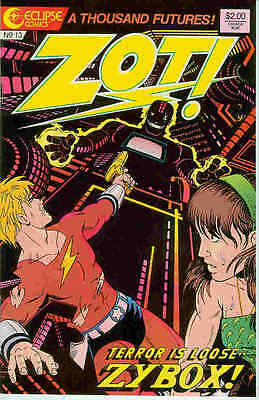 Zot! # 13 (scott Mccloud) (usa, 1987) Hoher Standard In QualitäT Und Hygiene