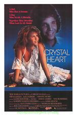 CRYSTAL HEART MOVIE POSTER Original 27x41 Rolled 1985 AKA CORAZON DE CRISTAL