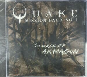 Quake-Mission-Pack-No-1-Scourge-of-Armagon-PC-IBM-CD-Rom-Game-VERY-RARE-New
