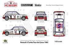 [FFSMC Productions] Decals 1/32 Renault 5 Turbo Tour de Corse 1982