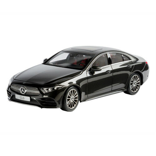 Original Mercedes maqueta de coche 1 18 CLS grafito gris metal norev b66960546