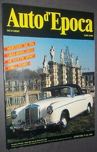 AUTO-D-039-EPOCA-N-12-1991-Mercedes-220-1956-ottima