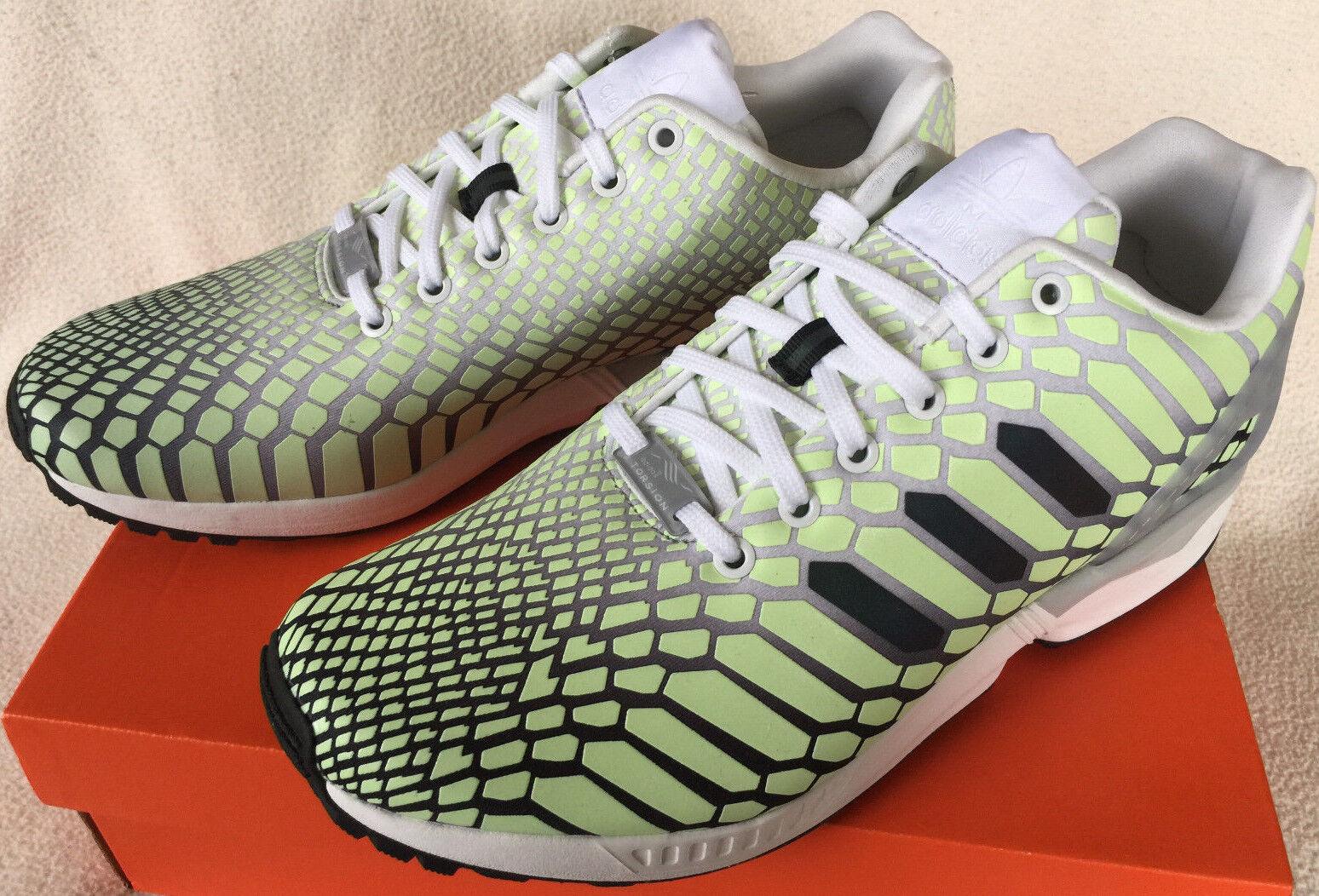 Adidas zx flujo Xeno torsión aq4535 Glow Dark torsión Xeno Marathon running zapatos hombres 10,5 d9d22b