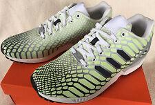 Adidas ZX Flux Xeno AQ4535 Glow Dark Torsion Marathon Running Shoes Men's 10.5