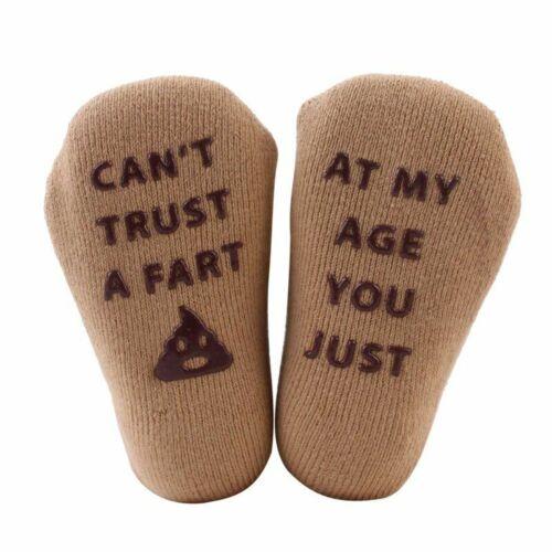 Newborn Baby Socks Infant Toddler Soft Cotton Funny Letter Boy Girl Floor Socks