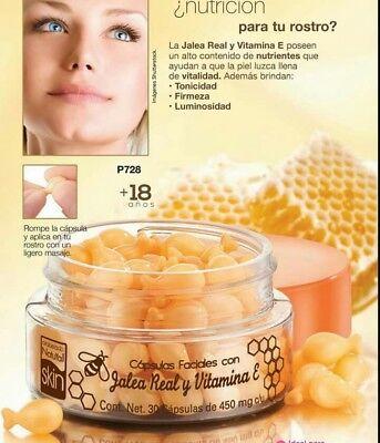 vitamina e para la cara capsulas