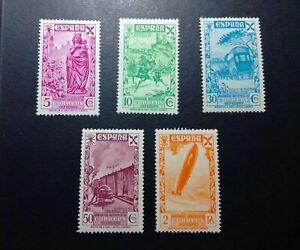 SELLOS-ESPANA-MNH-1938-BENEFICENCIA-HISTORIA-DEL-CORREO-CORTA-VER-DESCRIPCIoN