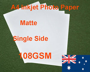 30-sheets-A4-108GSM-Inkjet-Single-Side-Matte-Photo-Paper