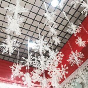 30PCS-Inverno-Fiocchi-di-neve-appesi-Natale-Finestra-Albero-Di-Natale-Festival-Festa-Decor