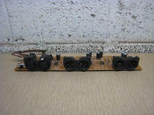 Denon-GU-3060-2-XLR-DN-T625-Professional-CD-Tape-Combo-I-O-Input-Output-Board