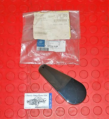 One New Genuine Seat Hinge Cover Right Upper 1079131528 for Mercedes MB