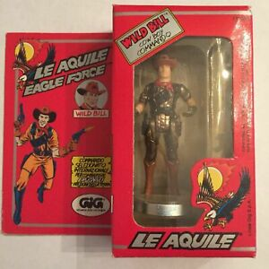 MEGA-RARE-1981-Mego-Eagle-Force-Wild-Bill-MIB-MOC-GiG-Italian-Box