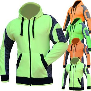 Hi-Vis-Fleece-Jacket-Hoodie-Jumper-Panel-with-Piping-Full-Zip-AS-NZS-4602-1-2011
