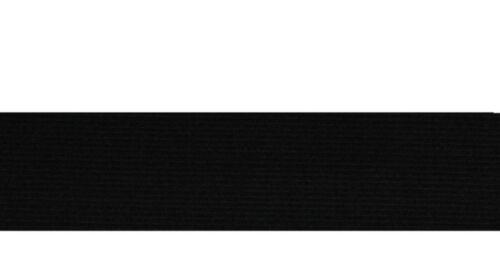 Elastico in GOMMA 40 mm 5m Nero