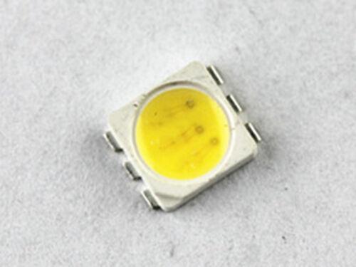 smd plcc6 3chips Samsung 5252  5050 525 25LM LEDs  4000K Neutralweiss 100 stk