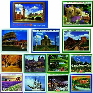 1000 to 2000 piece jigsaw puzzles for adults