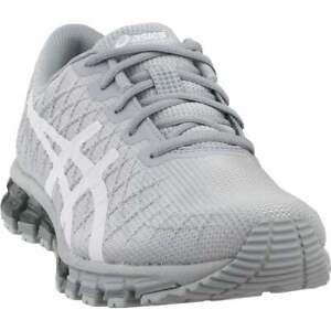 亞瑟士 GEL-QUANTUM 180 4 休閑跑步鞋-灰色-女式