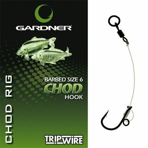 Gardner Tackle Ronnie Rigs IN STOCK BARBLESS 6 4 OR Chod Rig Carp Fishing Method