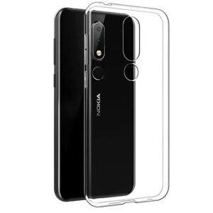 innovative design 28133 2e605 Details about TPU Transparent Clear Skin Gel Soft Case Cover Back For Nokia  6.1 Plus/X6 (2018)