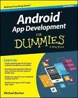 Android App Development For Dummies by Donn Felker, Michael Burton (Paperback, 2015)