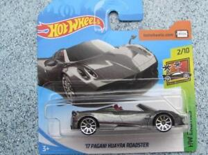 Hot Wheels 2018 119 365 2017 Pagani Huayra Roadster Grey Hw Exotics