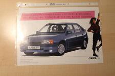 02269) Opel Kadett Tuningpaket Prospekt 198?