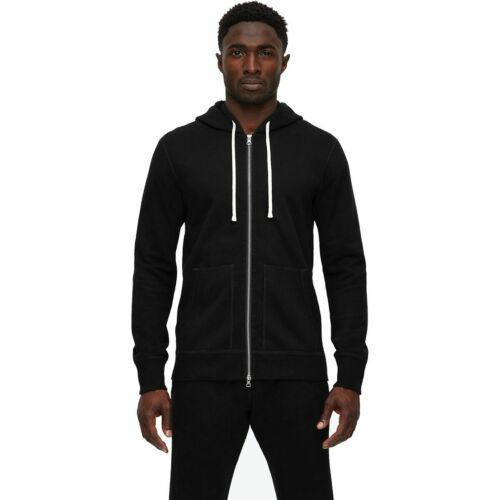 Reigning Champ Midweight Terry Full-Zip Hoodie Men/'s Black M