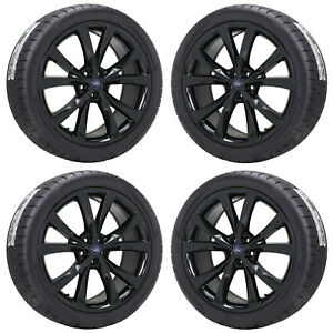 Image Is Loading   Ford Edge Sport Black Wheels Rims