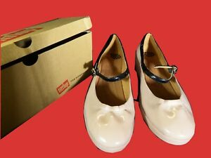Fitflop Size 6 Eur 40 Nude Fpop Mary Patent Jane 5 Uk w4YqY1XxrF