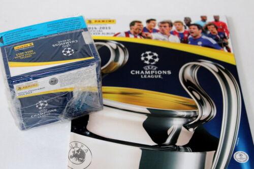 Panini UEFA CHAMPIONS LEAGUE 2014/2015 14/15 – DISPLAY BOX 50 packets + ALBUM